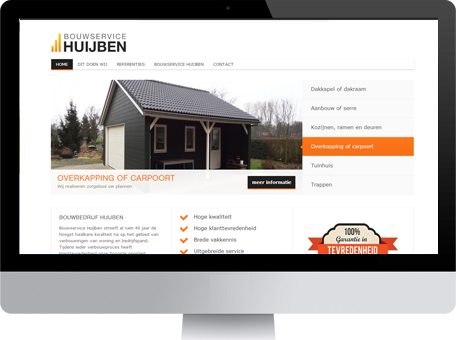 bouwservice-huijben-website-monitor